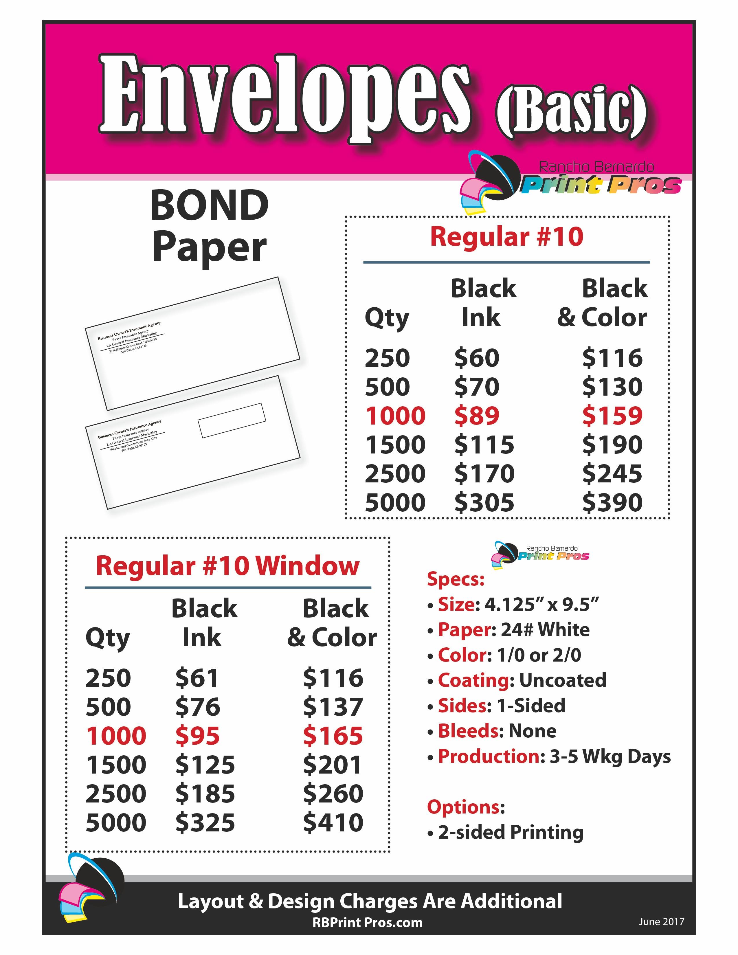 Envelopes (Basic)
