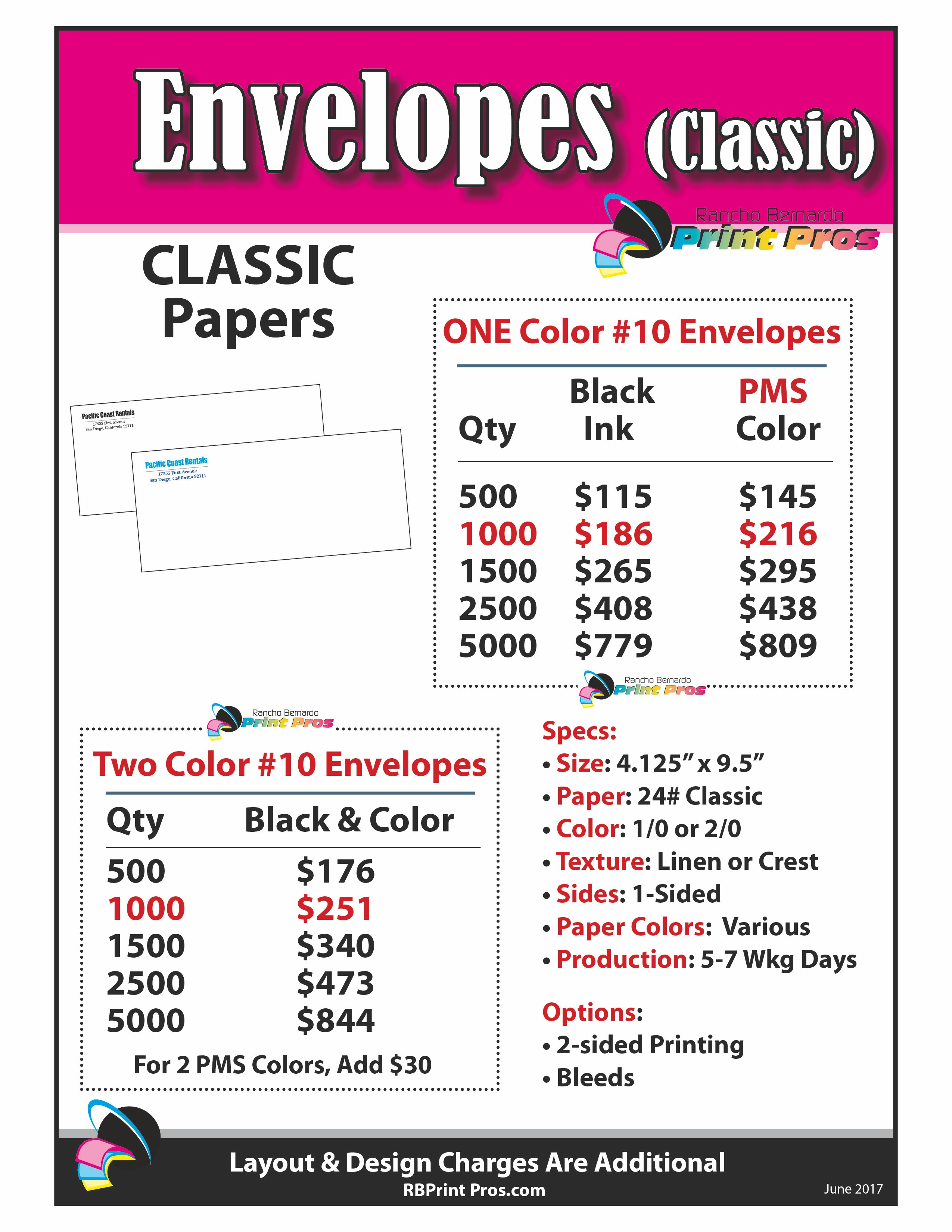 Envelopes (Hi-Quality)
